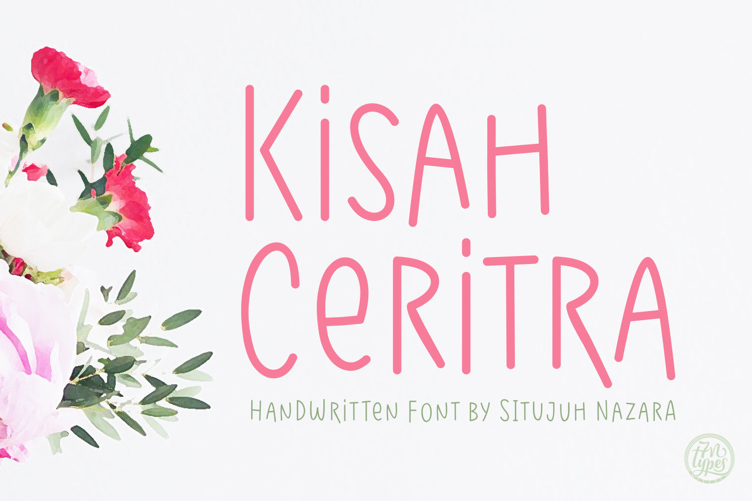 Print on Demand: Kisah Ceritra Script & Handwritten Font By Situjuh