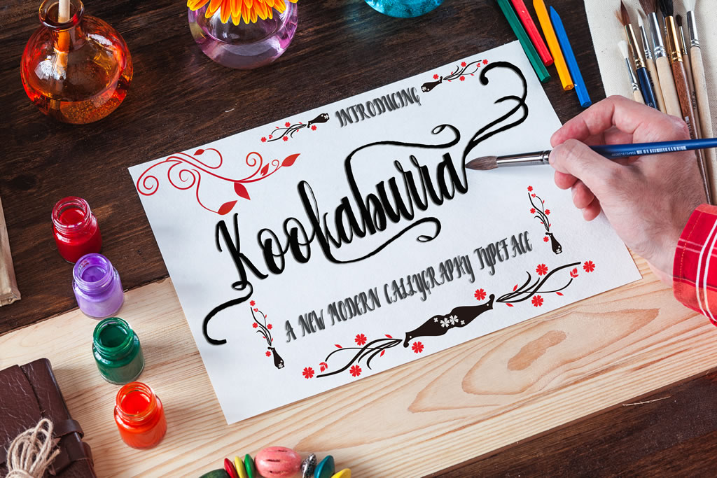 Print on Demand: Kookaburra Script & Handwritten Font By Creative drsign
