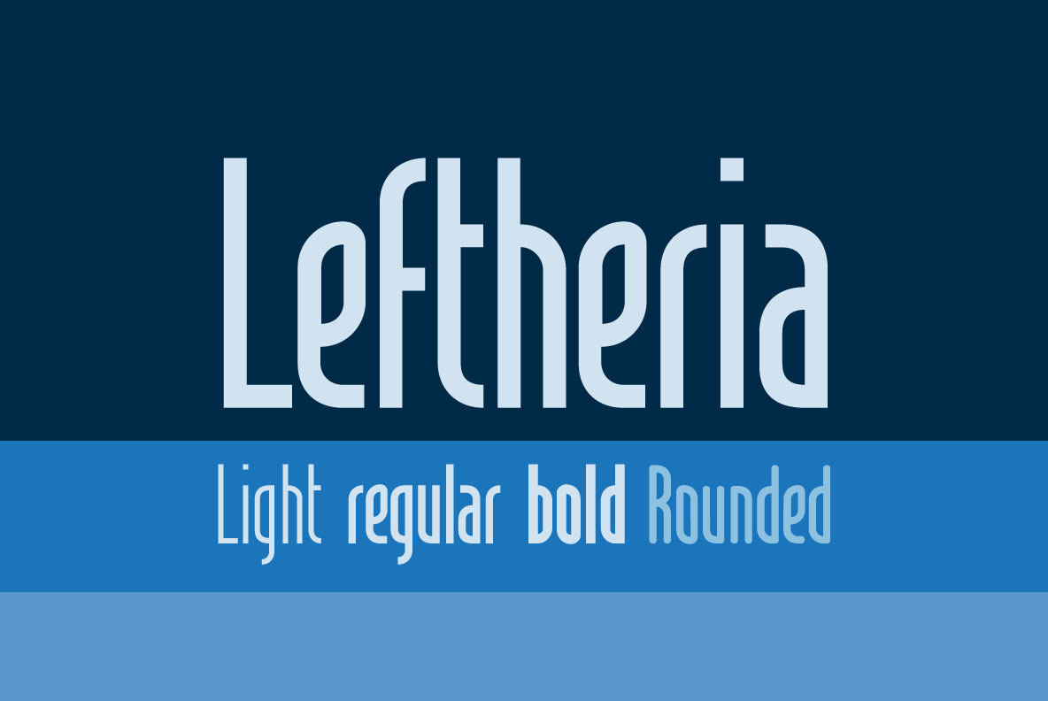 Print on Demand: Leftheria Sans Serif Font By Cort9