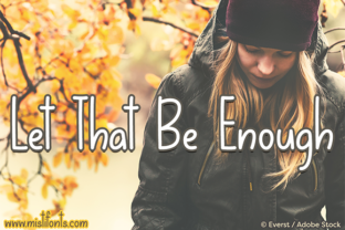 Let That Be Enough by Misti