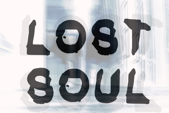 Print on Demand: Lost Soul Decorative Font By GraphicsBam Fonts