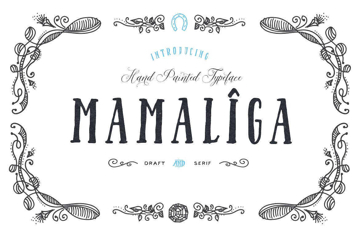 Print on Demand: Mamaliga Serif Font By Blessed Print