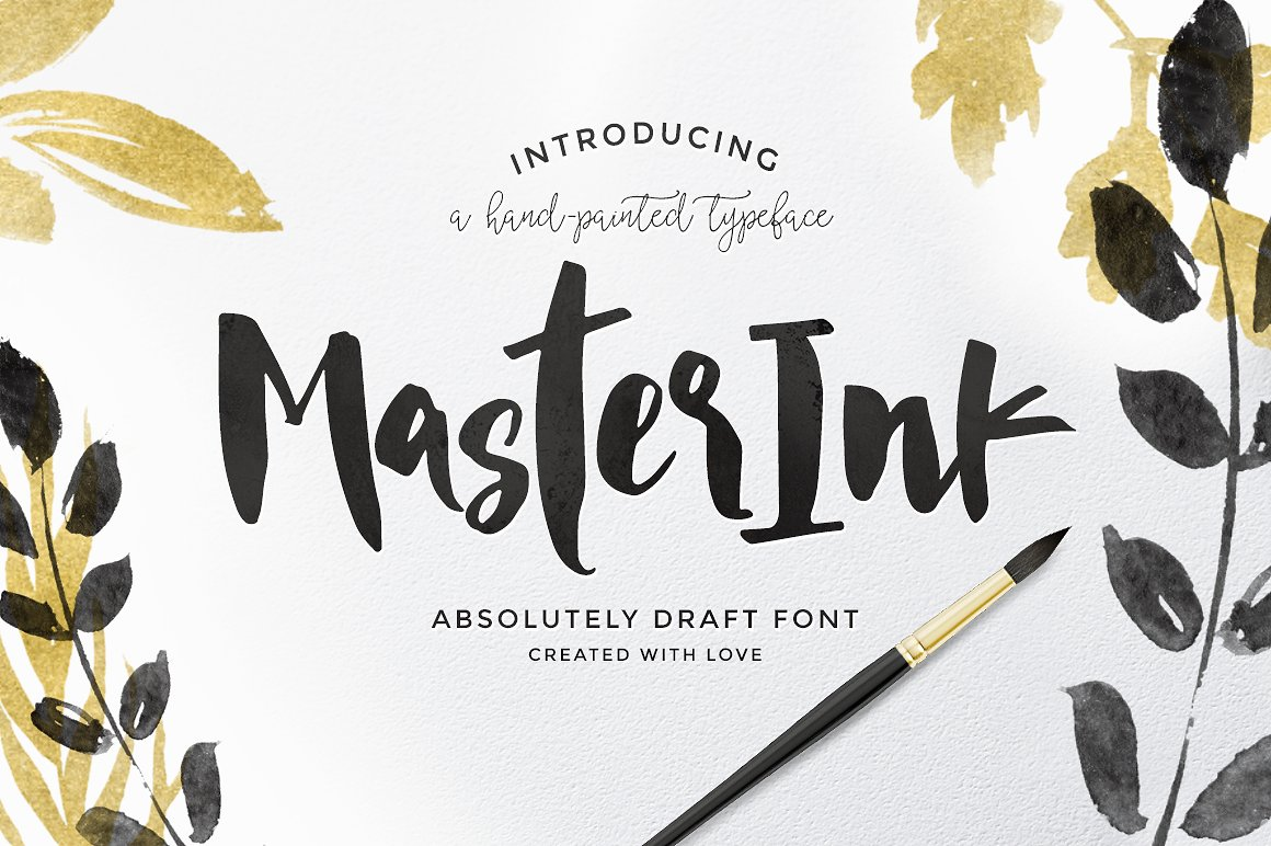Print on Demand: MasterInk Script & Handwritten Font By Blessed Print