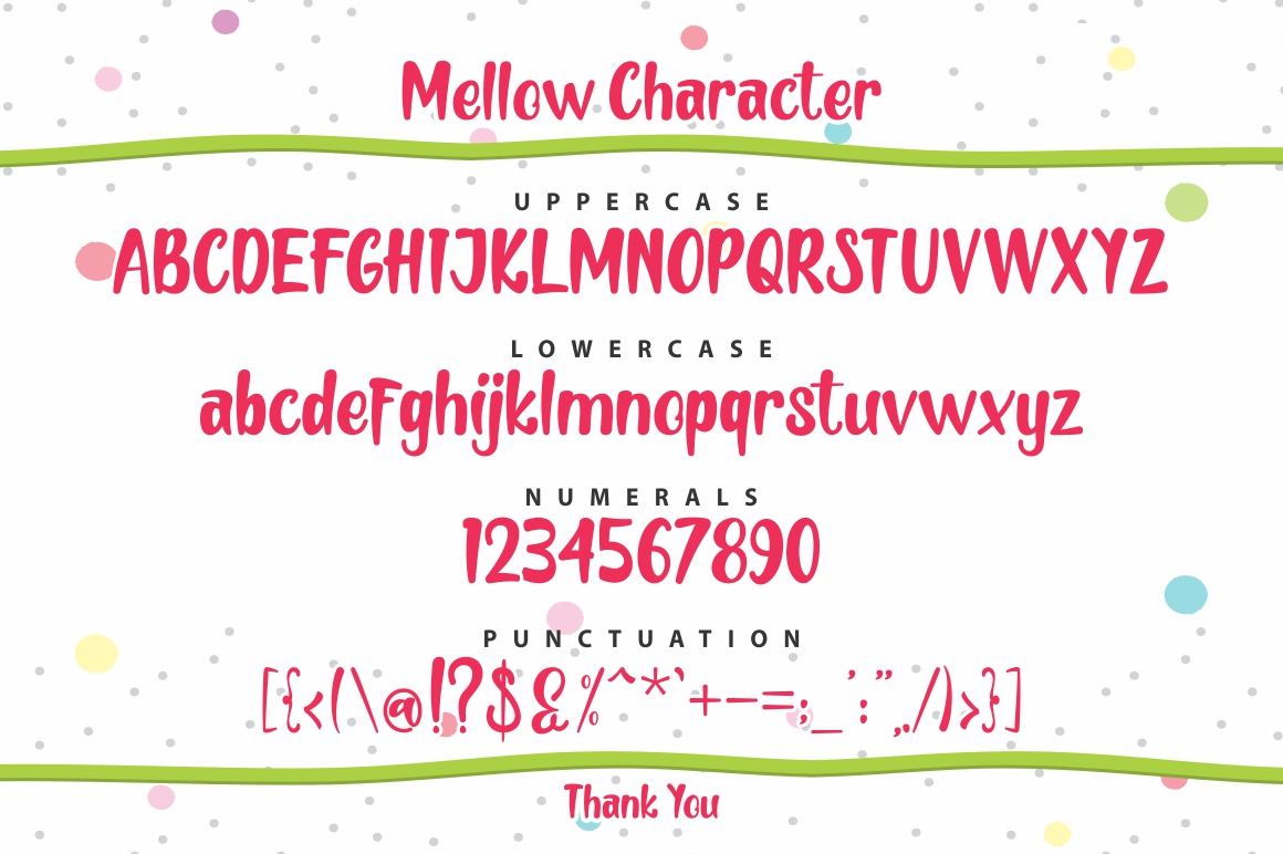 Mellow Font By FadeLine Image 3
