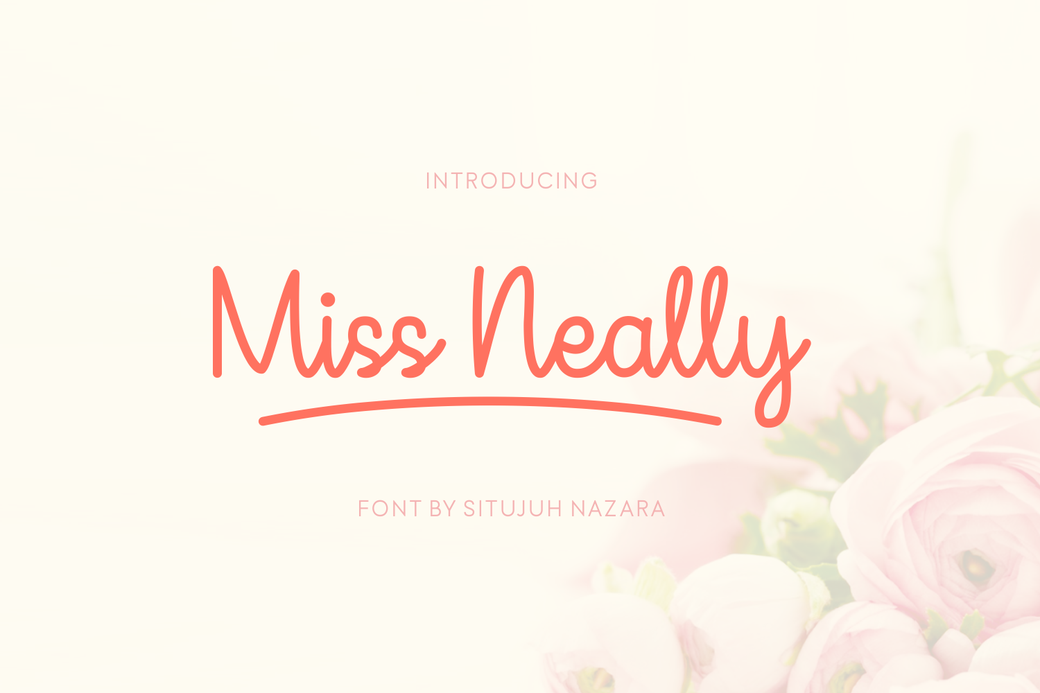 Print on Demand: Miss Neally Script & Handwritten Font By Situjuh