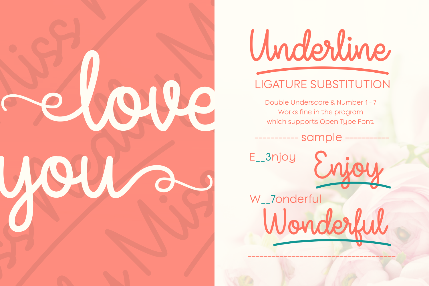 Print on Demand: Miss Neally Script & Handwritten Font By Situjuh - Image 2
