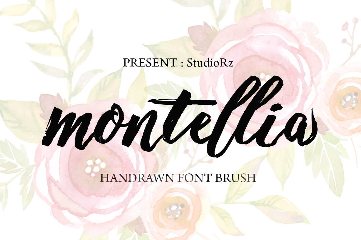 Print on Demand: Montellia Script & Handwritten Font By StudioRz