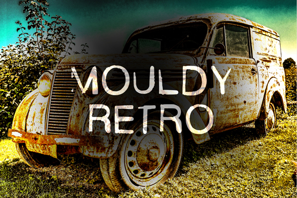 Print on Demand: Mouldy Retro Display Font By GraphicsBam Fonts