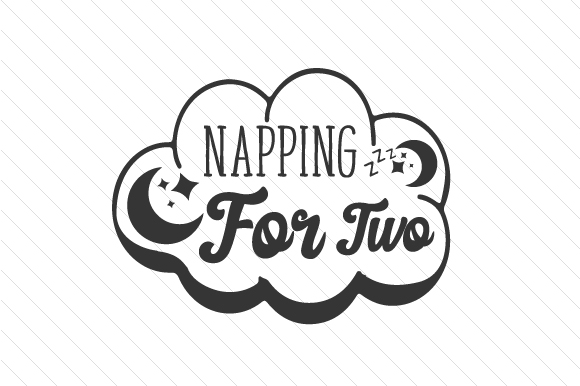 Napping for Two Kids Craft Cut File By Creative Fabrica Crafts