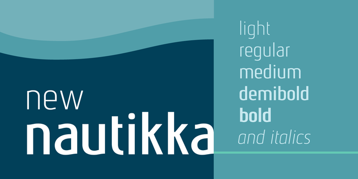 Print on Demand: Nautikka Sans Serif Font By Cort9