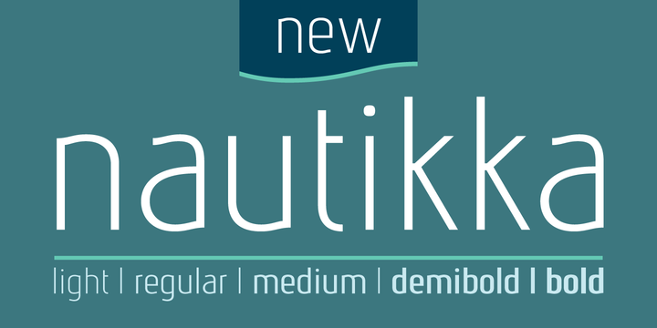 Print on Demand: Nautikka Sans Serif Font By Cort9 - Image 4