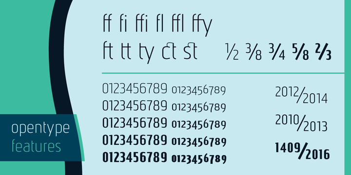 Print on Demand: Nautikka Sans Serif Font By Cort9 - Image 5