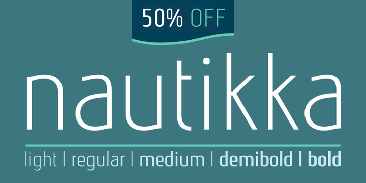 Print on Demand: Nautikka Sans Serif Font By Cort9 - Image 9