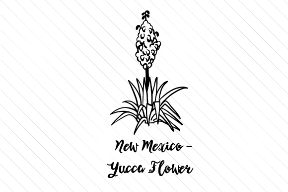 Download Free State Flower New Mexico Yucca Flower Svg Cut File By Creative for Cricut Explore, Silhouette and other cutting machines.