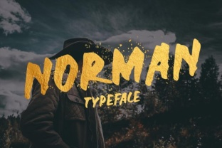 Norman Font by Sameeh Media 1