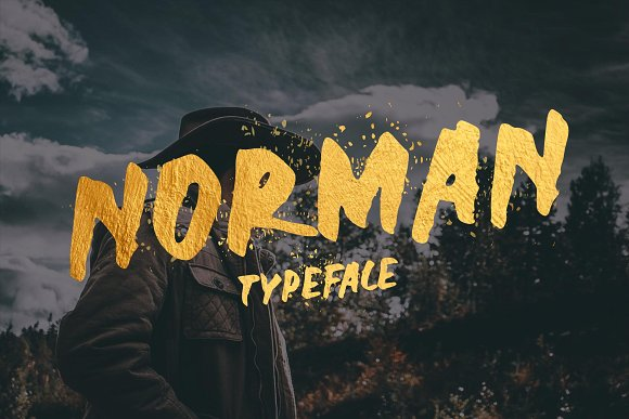 Print on Demand: Norman Display Font By Sameeh Media - Image 1