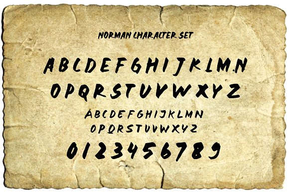 Print on Demand: Norman Display Font By Sameeh Media - Image 5