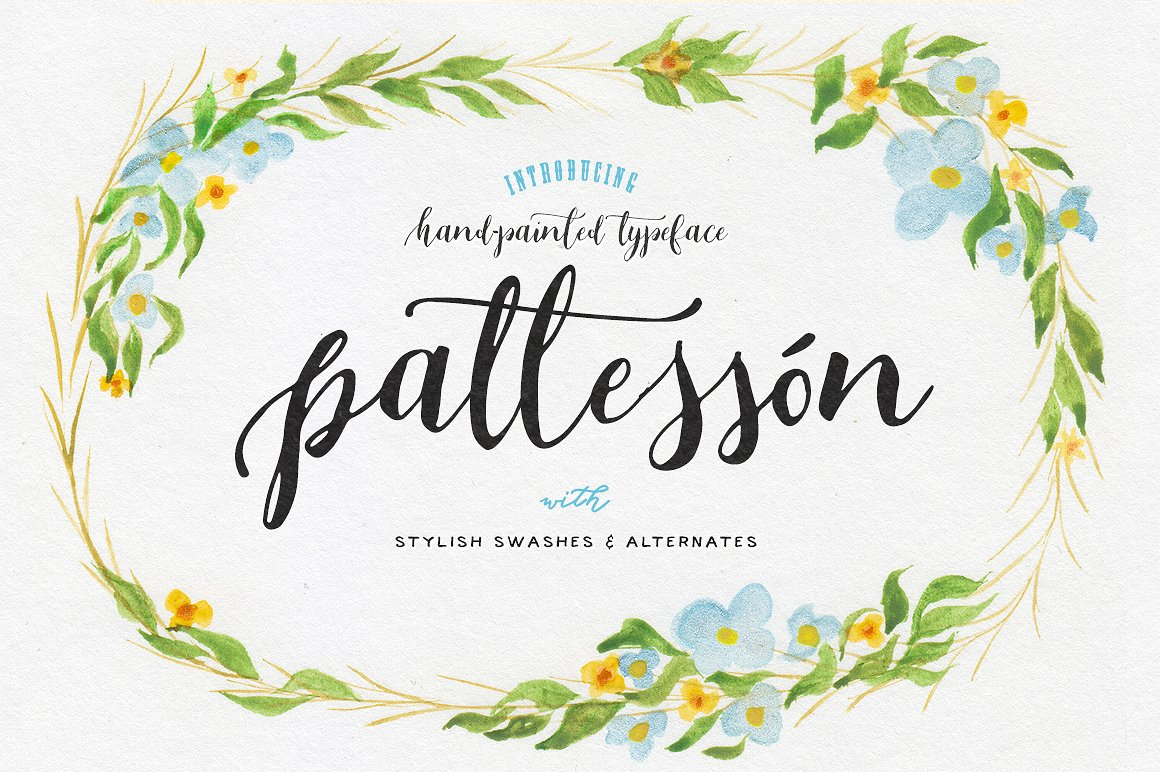 Print on Demand: Patteson Script & Handwritten Font By Blessed Print