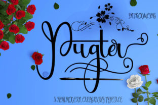 Pugter font by Creativedrsign (1)