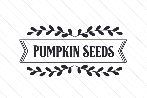 Pumpkin Seeds Craft Design By Creative Fabrica Crafts