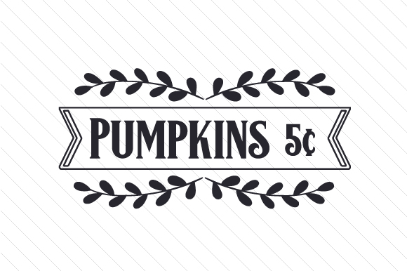 Pumpkins 5 Cents Craft Design By Creative Fabrica Crafts