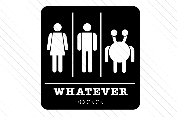 Whatever Restroom Sign Bathroom Craft Cut File By Creative Fabrica Crafts