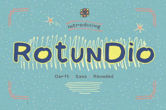 Rotundio Font By Blessed Print