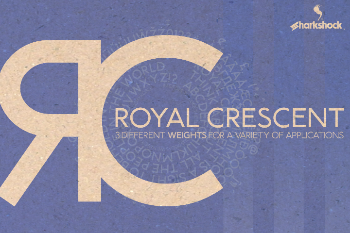 Print on Demand: Royal Crescent Sans Serif Font By Sharkshock