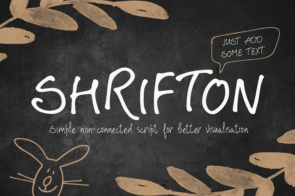Print on Demand: Shrifton Script & Handwritten Font By Blessed Print