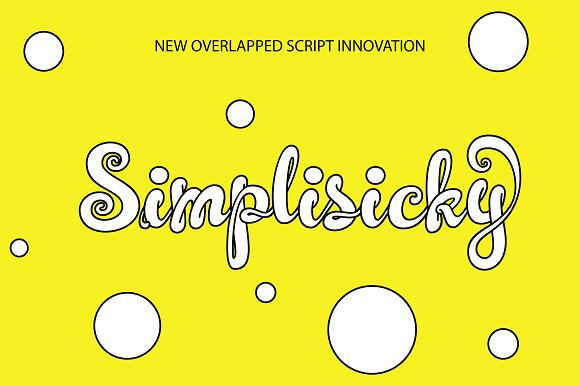 Print on Demand: Simplisicky Script & Handwritten Font By Royaltype
