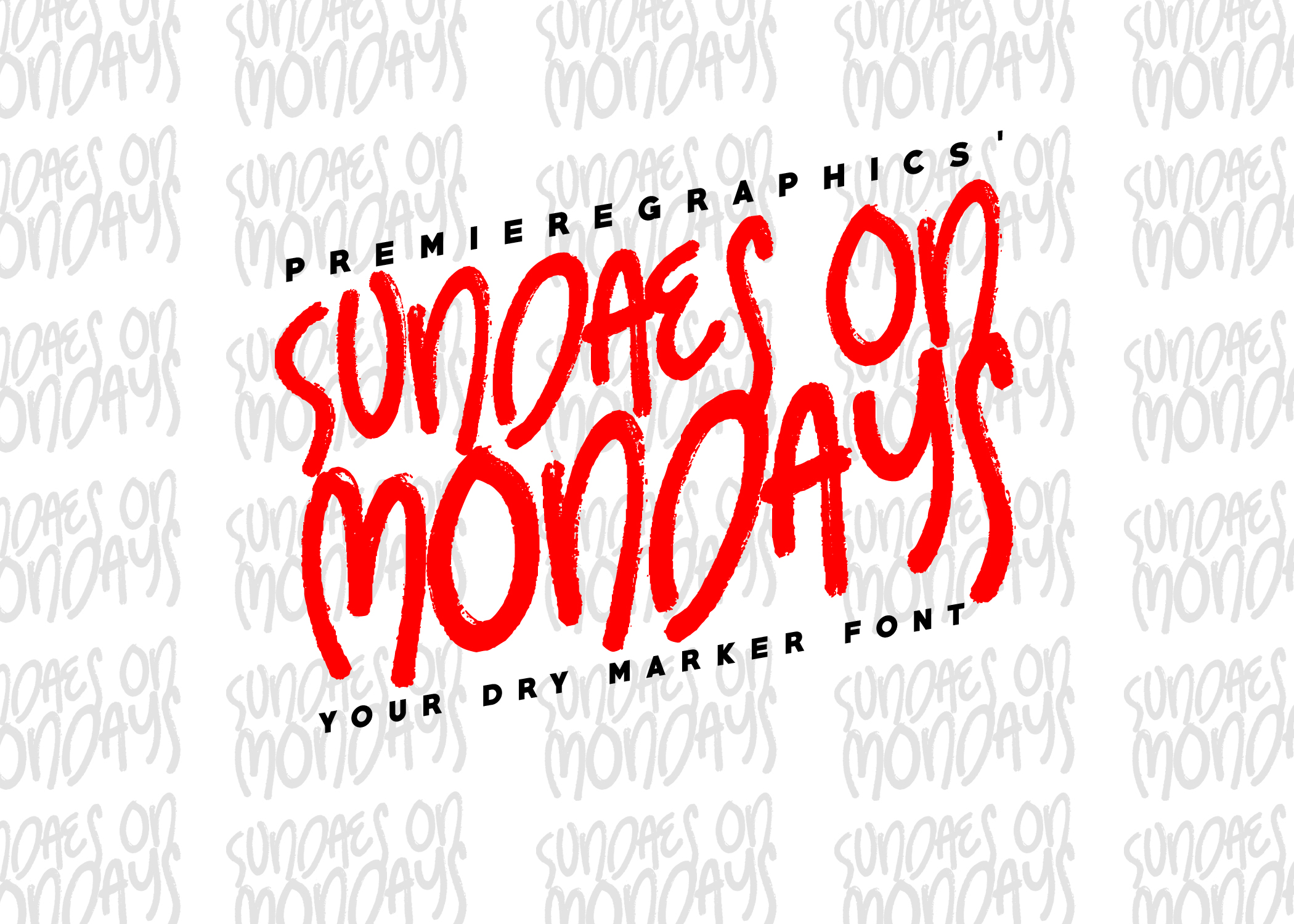 Print on Demand: Sundaes on Mondays Script & Handwritten Font By Ryn Pojas
