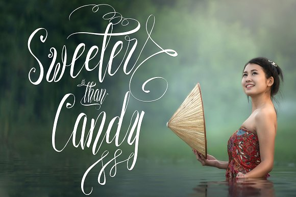 Print on Demand: Sweeter Than Candy Script & Handwritten Font By Royaltype