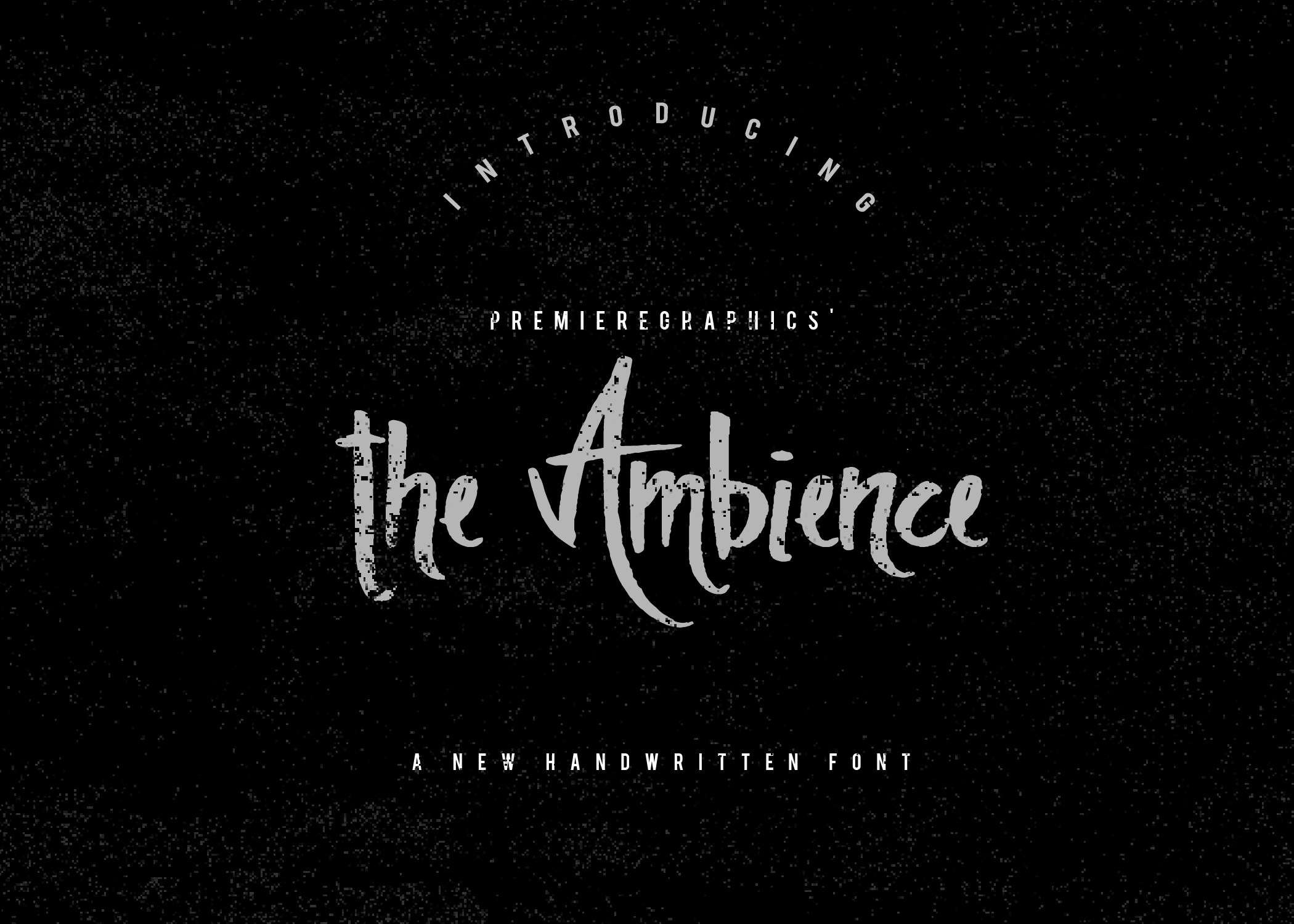 Print on Demand: The Ambience Script & Handwritten Font By Ryn Pojas