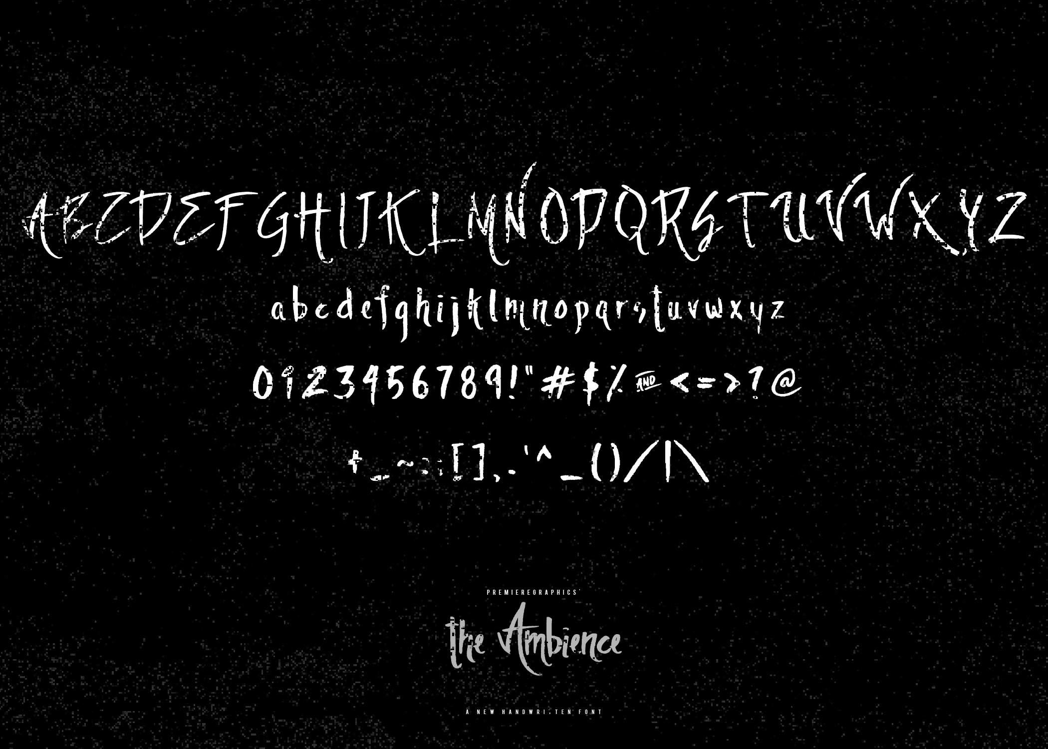The Ambience Font By Ryn Pojas Image 2