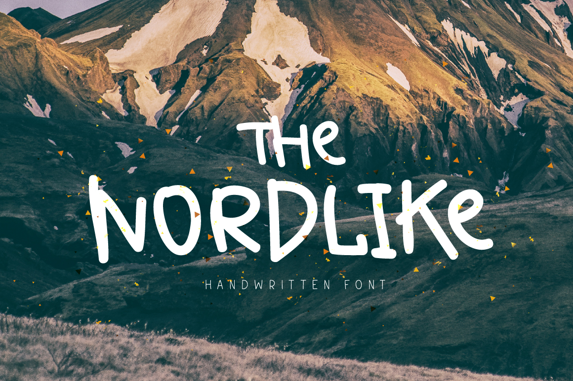 Print on Demand: The Nordlike Display Font By ChekArt