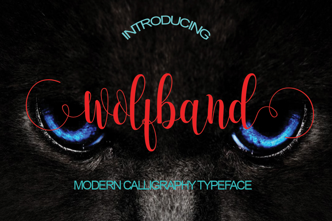 Print on Demand: Wolfband Script & Handwritten Font By StudioRz