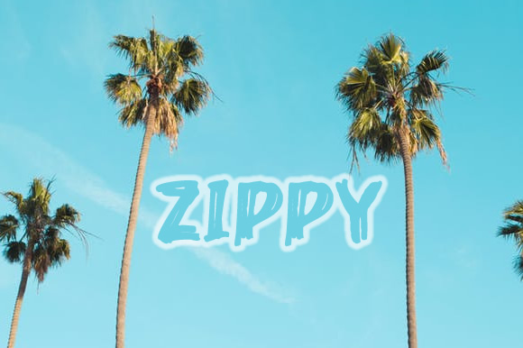 Zippy Font By Blessed Print