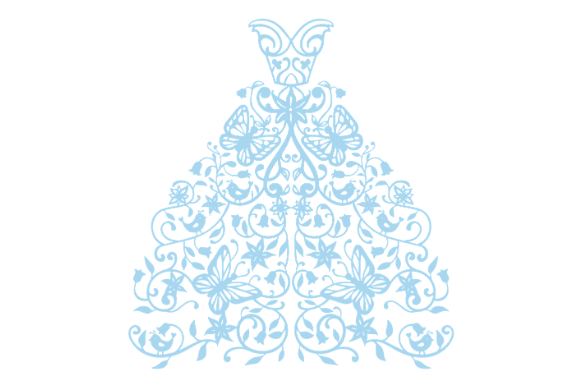 Download Free Wedding Dress Svg Cut File By Creative Fabrica Crafts Creative Fabrica for Cricut Explore, Silhouette and other cutting machines.