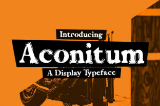 Aconitum by Seemly Fonts