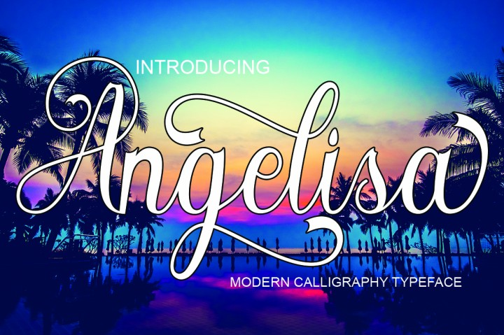 Print on Demand: Angelisa Script & Handwritten Font By naldystudio
