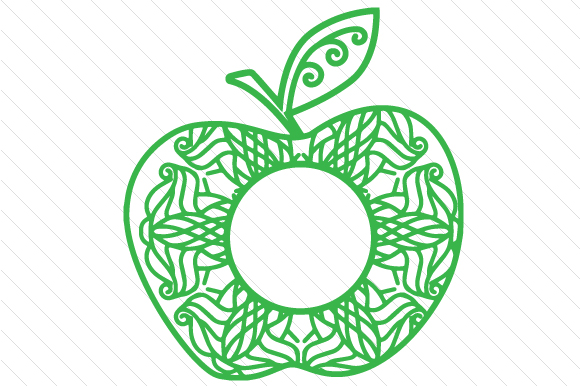 Download Free Apple Monogram Frame Svg Cut File By Creative Fabrica Crafts SVG Cut Files