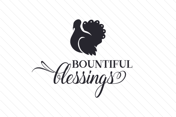 Bountiful Blessings Thanksgiving Craft Cut File By Creative Fabrica Crafts