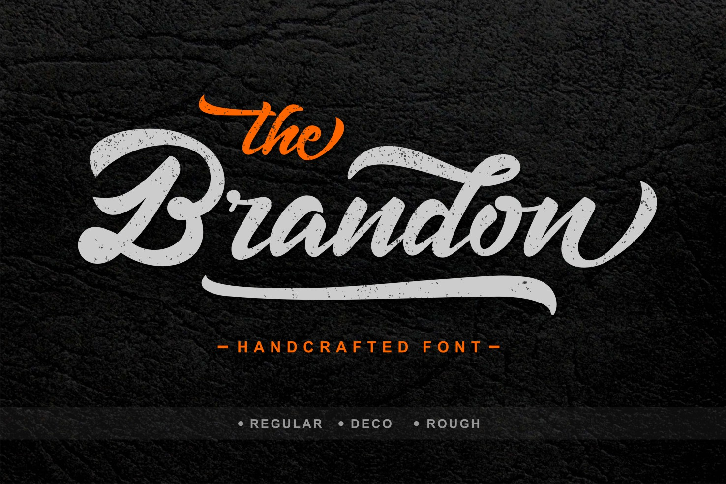 Print on Demand: Brandon Script & Handwritten Font By Creative Fabrica Fonts