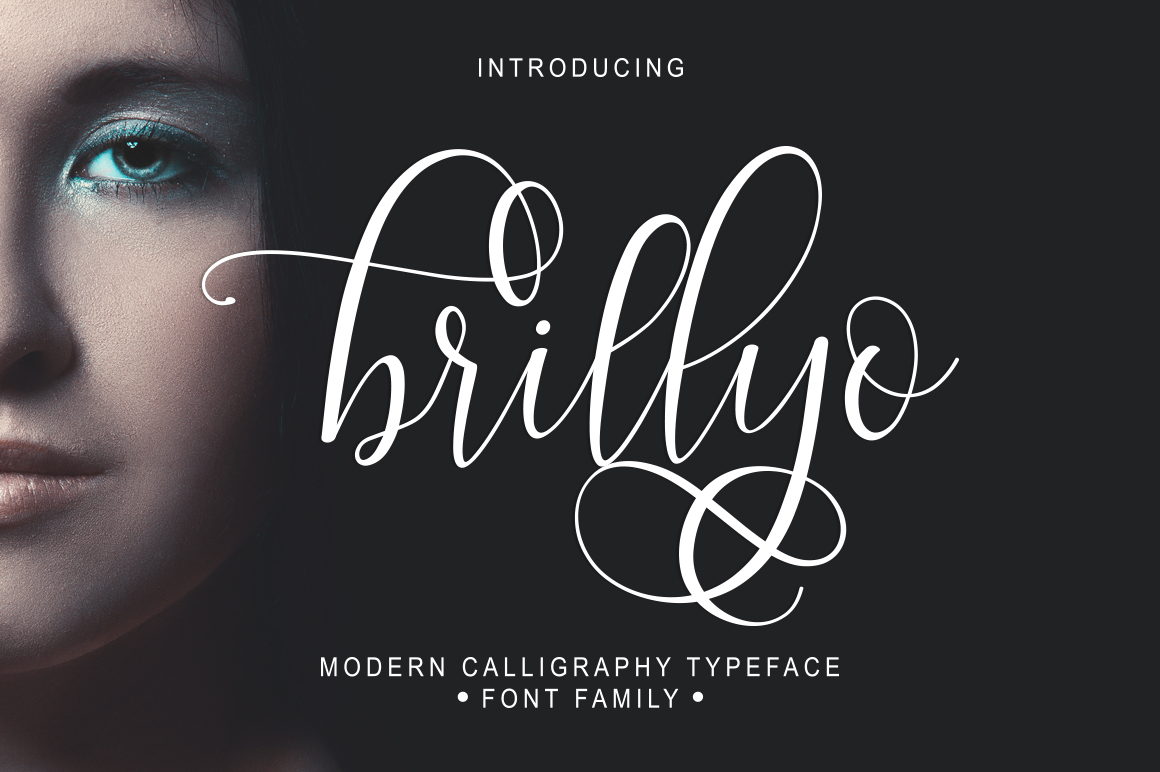 Print on Demand: Brillyo Script & Handwritten Font By masinong - Image 1