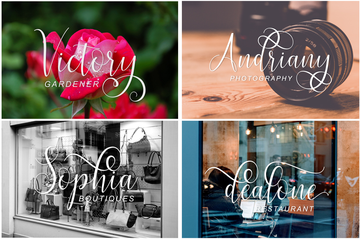 Print on Demand: Brillyo Script & Handwritten Font By masinong - Image 7