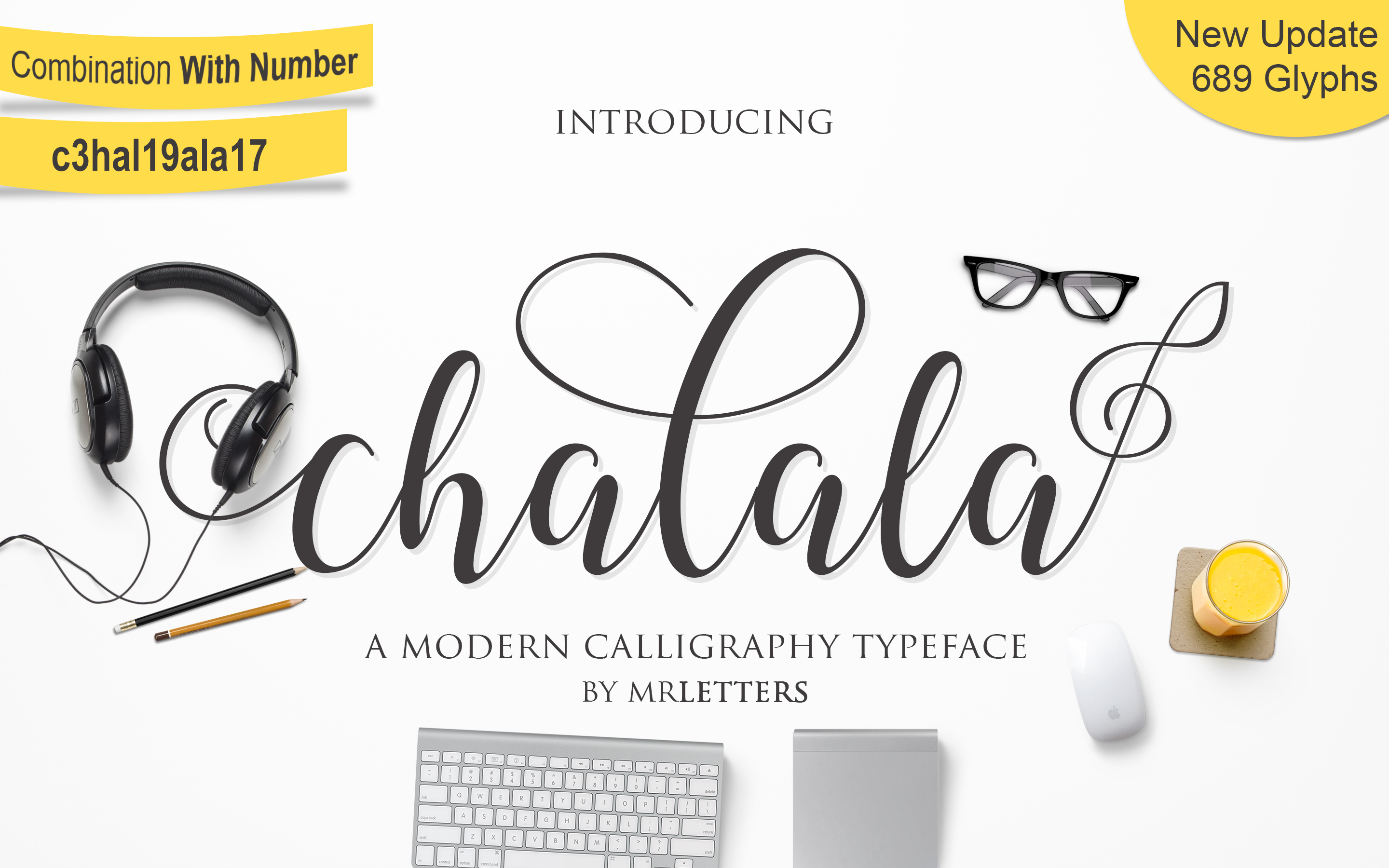 Chalala Font By Mrletters Image 1