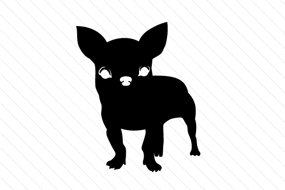 Chihuahua Silhouette Craft Design By Creative Fabrica Crafts
