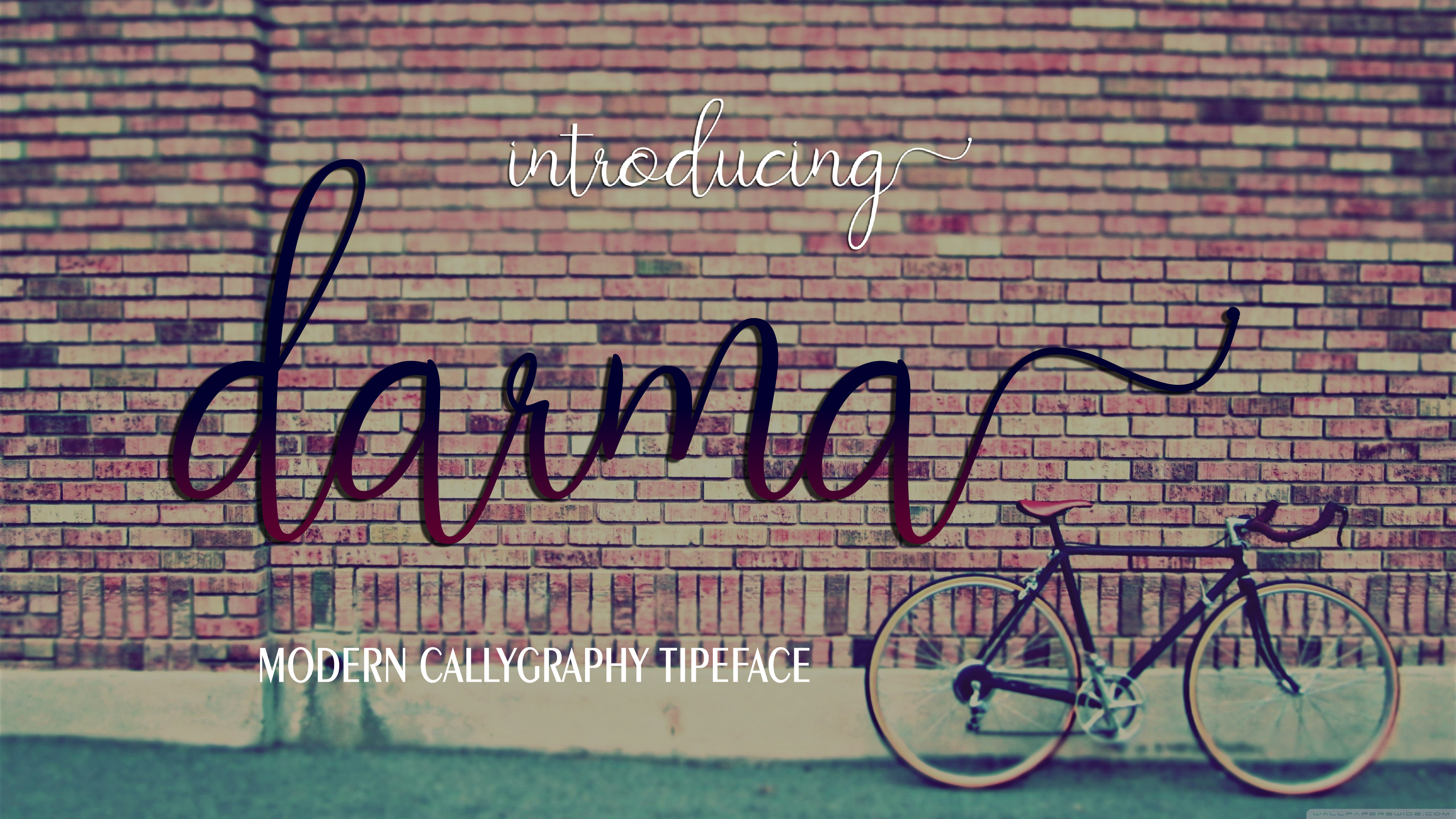Print on Demand: Darma Script & Handwritten Font By maydhen studio - Image 1