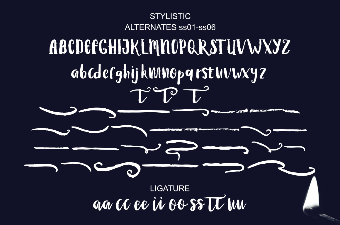 Print on Demand: Debt Collectors Font By masinong - Image 10