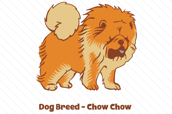 Download Free Dog Breed Chow Chow Svg Cut File By Creative Fabrica Crafts for Cricut Explore, Silhouette and other cutting machines.